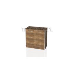 Lada kasowa, 3 szuflady z zamkiem, 90x45x90cm