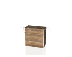 Lada sklepowa, kasowa z szufladami, 90x45x90cm