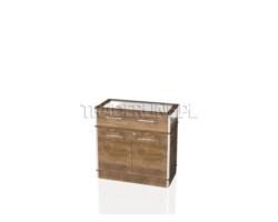 Lada z szufladą jubilerską i szafką, 90x45x90cm