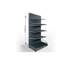 Regał sklepowy H180cm, półki 5x37cm