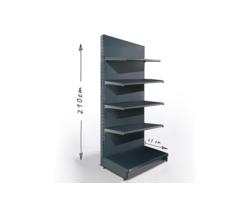 Regał sklepowy H210cm, półki 5x47cm