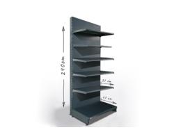Regał sklepowy H240cm, półki 1x47cm, 5x37cm