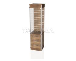 Gablota sklepowa 50x45x190cm, szuflady, Spacewall