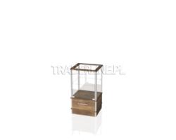 Lada sklepowa, ekspozycyjna, szklana, 50x45x90cm