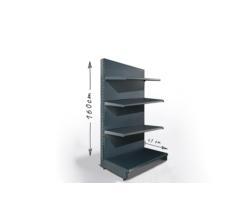 Regał sklepowy H160cm, półki 4x47cm