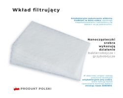 Wkład filtrujący do maseczki 10szt