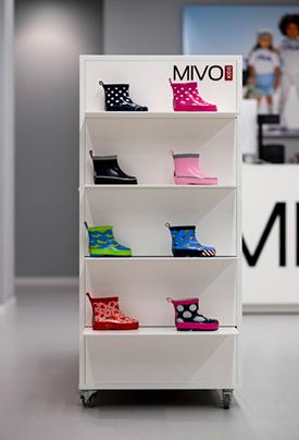Wyposażenie sklepu obuwniczego